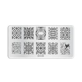Stamping Plate B008