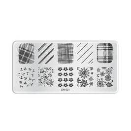 Stamping Plate D021