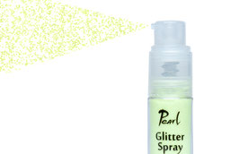 Pearl Glitter Spray - Vivid Green Rainbow