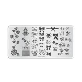 Stamping Plate B016
