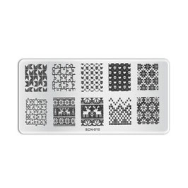 Stamping Plate B010
