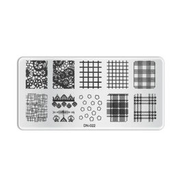 Stamping Plate D022