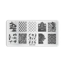 Stamping Plate B026