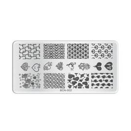 Stamping Plate B002