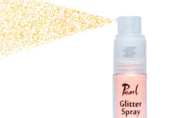 Pearl Glitter Spray - Light Orange Rainbow