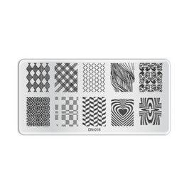 Stamping Plate D016