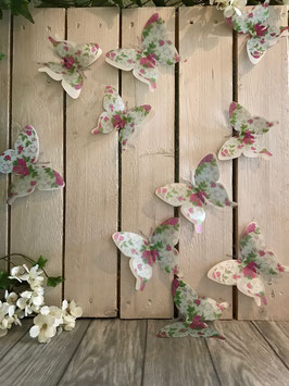 Wandsticker Schmetterling
