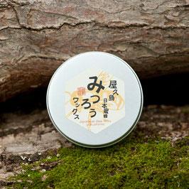 日本蜜蜂みつろうワックス 60g