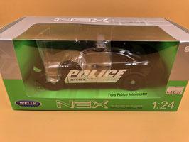 FORD POLICE INTERCEPTOR - WELLY