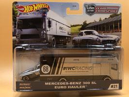 #21 MERCEDES BENZ 300 SL & EURO HAULER
