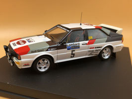 Audi Quattro A1 - H.Mikkola - RAC Rally (1981)