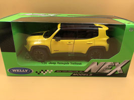 JEEP RENEGADE - GIALLO - WELLY 1/24