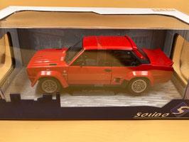 FIAT 131 ABARTH (1976) - ROSSO - SOLIDO 1/18