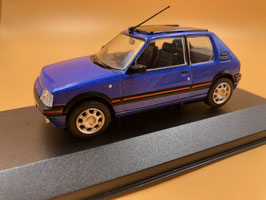 PEUGEOT 205 GTI MIAMI BLUE TOP GEAR (1988)