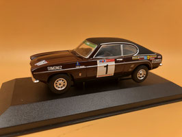 Ford Capri MkI 3.0 GT - R.Clark - AVON Tour of GB Rally (1973)
