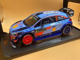 "HYUNDAI I20 WRC - HYUNDAI MOTORSPORT ""MONTE CARLO RALLY 2018 - T.NEUVILLE"" -- IXO cod. RMC030B"