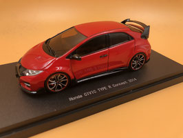 Honda Civic FK2 Type R Concept (2014) - Rosso