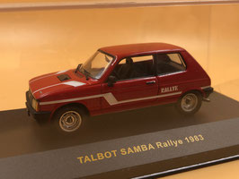 TALBOT SAMBA RALLYE (1983)