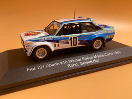 Fiat 131 Abarth - W.Rohrl - Winner Monte Carlo Rally (1980)