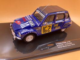 Citroen Dyane 6 - M.Peyret - Montecarlo Rally (1978)