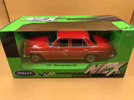 MERCEDES BENZ 200 /8 - ROSSO - WELLY