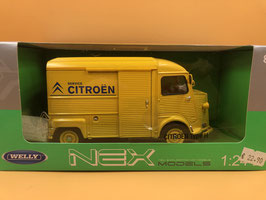 CITROEN HY - GIALLO - WELLY