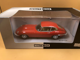 JAGUAR E TYPE V12 SERIE 3 - ROSSO - WHITE BOX