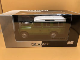 LAND ROVER 109 SERIES III - VERDE - WHITE BOX