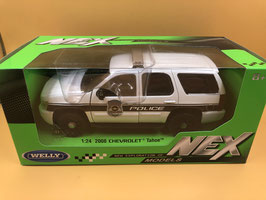 CHEVROLET TAHOE POLICE - WELLY 1/24