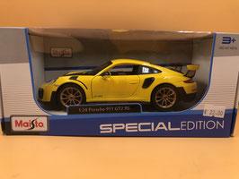 PORSCHE 911 (991) GT2 RS - GIALLO - MAISTO 1/24