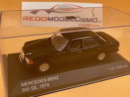 Mercedes Benz 500 SE W126 (1979) - Nero