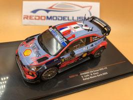 Hyundai I20 Coupé - S.Loeb - Rally Monte Carlo (2020)