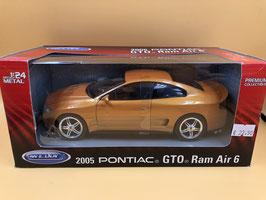 PONTIAC GTO RAM AIR 6 (2010) - WELLY