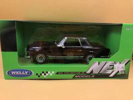 "MERCEDES BENZ 230 SL ""PAGODA"" - NERO - WELLY"