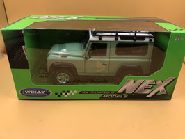 LAND ROVER DEFENDER EXPEDITION - VERDE - WELLY
