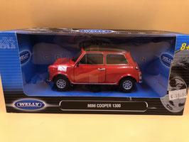 MINI COOPER 1300 - ROSSO - WELLY