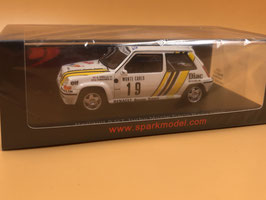 Renault Super5 GT Turbo Gr.A - A.Oreille - Montecarlo (1989)