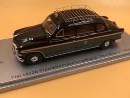FIAT 1400 B PRESIDENT TAXI MILANO (1956)