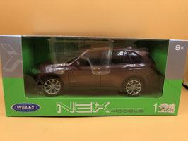 BMW X5 - CAFFE' - WELLY 1/24