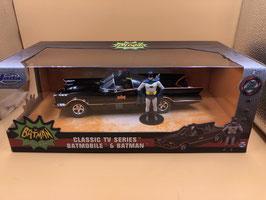 BATMOBILE CLASSIC - BATMAN E ROBIN - JADA 1/24