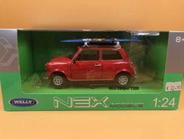 MINI COOPER 1300 WINDSURF - ROSSO - WELLY