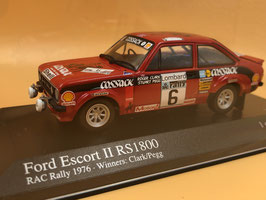 Ford Escort RS 1800 - R.Clark - Winner RAC Rally (1976)