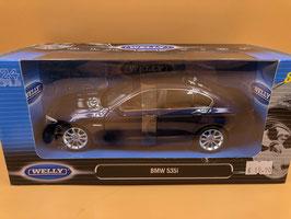BMW 535i F10 - BLU - WELLY 1/24
