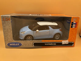 CItRoEN DS 3 - AZZURRO - WELLY