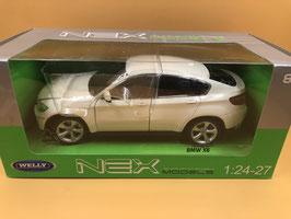 BMW X6 - BIANCO - WELLY 1/24