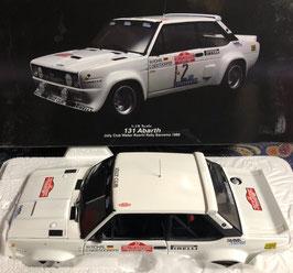"""FIAT 131 ABARTH GR.4 - """"SANREMO RALLY 1980 - JOLLY CLUB - W.ROHRL""""  -- KYOSHO cod. 08375B"""