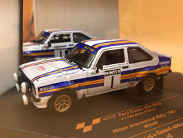Ford Escort RS 1800 Gr.4 - P.Airikkala - Mintex Rally (1981)