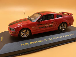 Ford Mustang STALLING POLICE (2005)