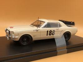 Ford Mustang - F.Vetsch - Montecarlo Rally (1966)