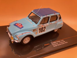 Citroen Dyane 6 - M.Peyret - Montecarlo Rally (1976)